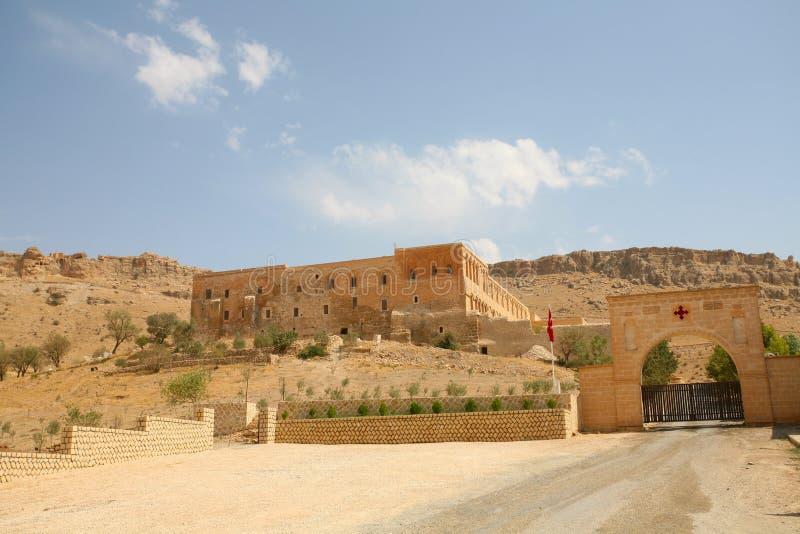 Het Klooster van Dayrulzaferan stock afbeeldingen