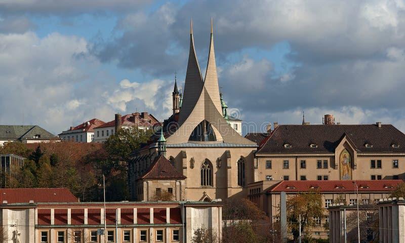 Het klooster van de benedictine royalty-vrije stock foto