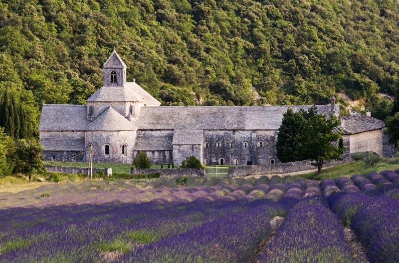Het klooster van de Provence royalty-vrije stock afbeelding