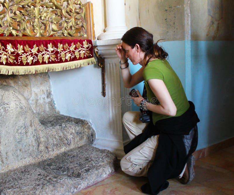 Het Klooster van de Verleiding bedevaart royalty-vrije stock fotografie