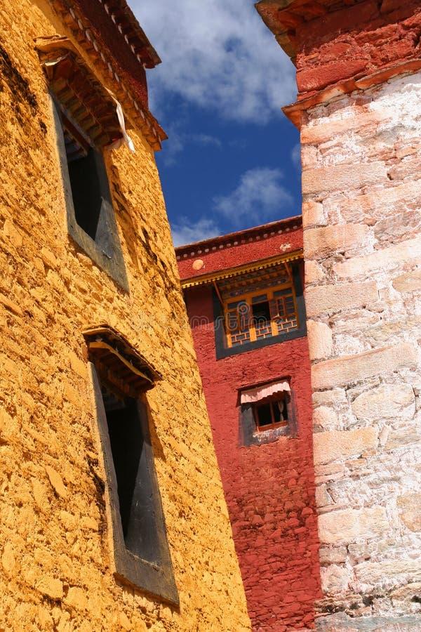 Het Klooster van Gyantse stock afbeeldingen