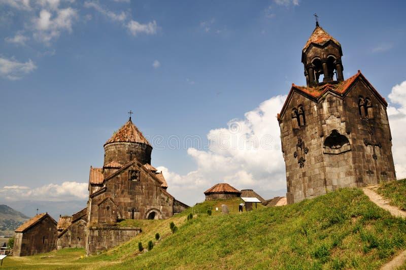 Het Klooster van Haghpat stock fotografie