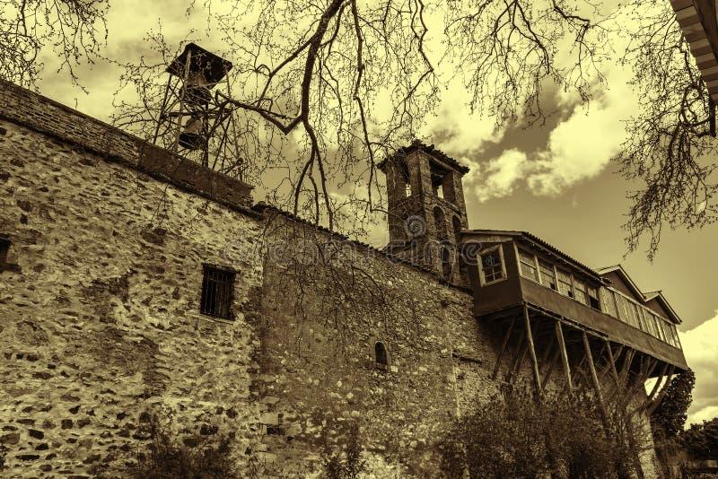 Het klooster van heilige George, Griekenland stock foto