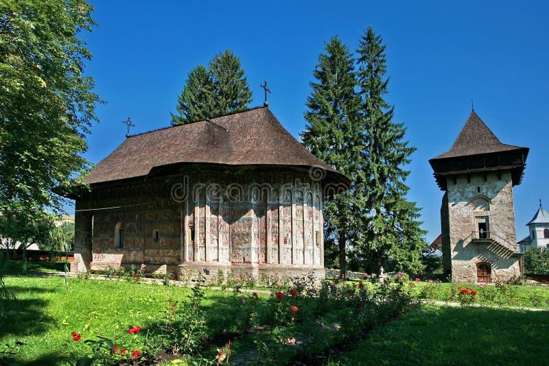 Het klooster van het humeur stock foto's