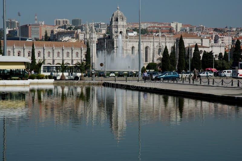 Het Klooster van Jeronimos, Lissabon royalty-vrije stock afbeeldingen