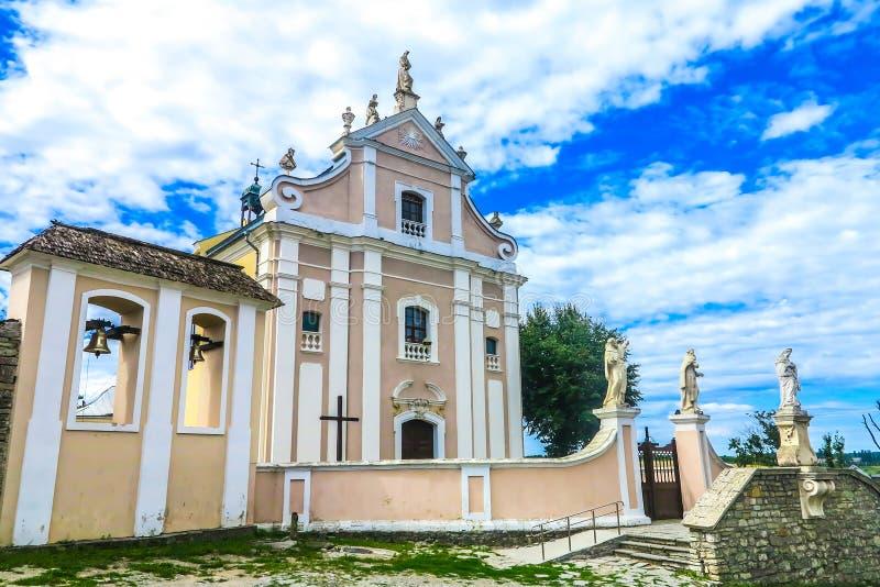 Het Klooster van Kamianetspodilskyi royalty-vrije stock afbeelding
