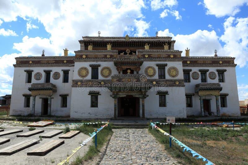 Het Klooster van Kharkhorinerdene Zuu royalty-vrije stock foto