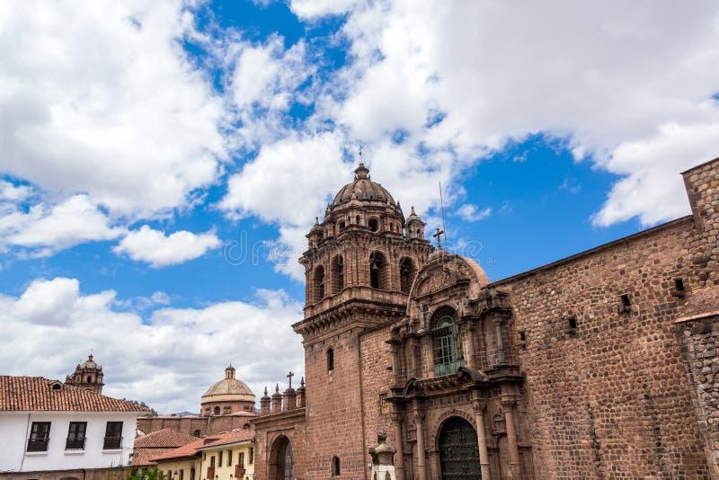 Het Klooster van La Merced in Cuzco, Peru royalty-vrije stock foto