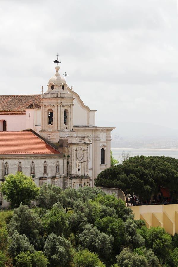 Het Klooster van Mary, Moeder van Gunst, Lissabon stock fotografie