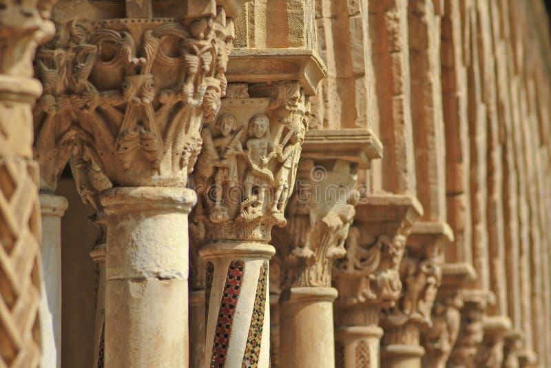 Het klooster van Monreale royalty-vrije stock foto's