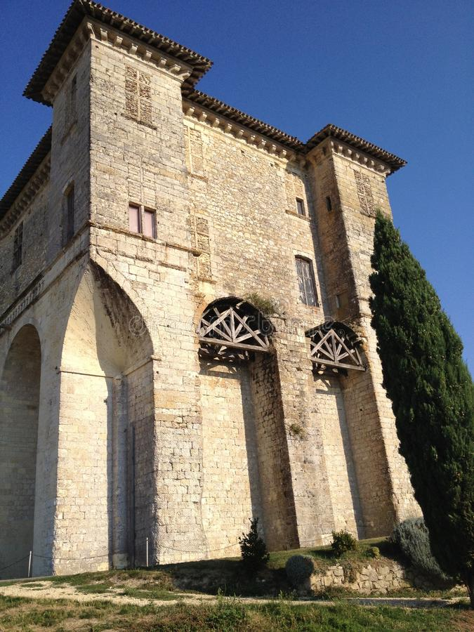 Het klooster van Montauban, Midi-Pyreneés, Frankrijk royalty-vrije stock afbeeldingen