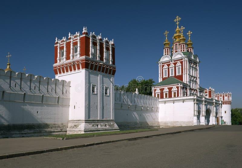 Het Klooster van Novodevichy stock afbeeldingen
