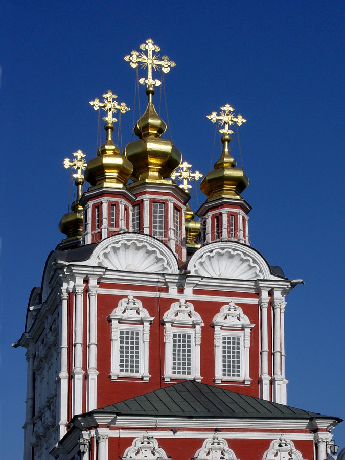 Het Klooster van Novodevichy stock fotografie