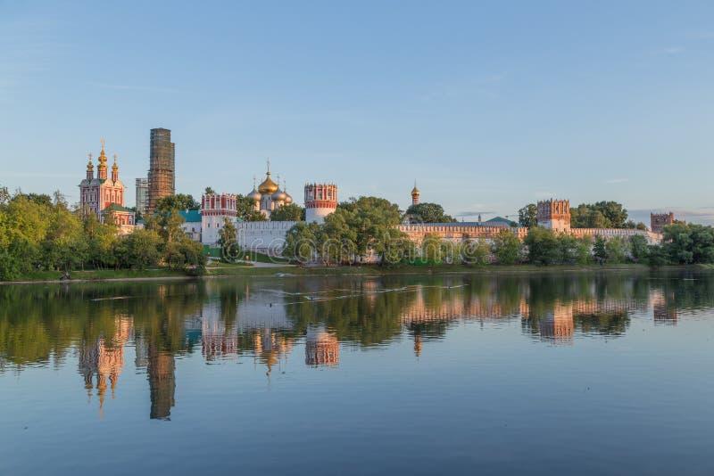 Het Klooster van Novodevichy royalty-vrije stock afbeelding