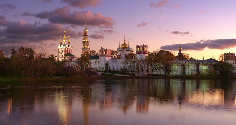 Het klooster van Novodevichy P2 royalty-vrije stock afbeelding