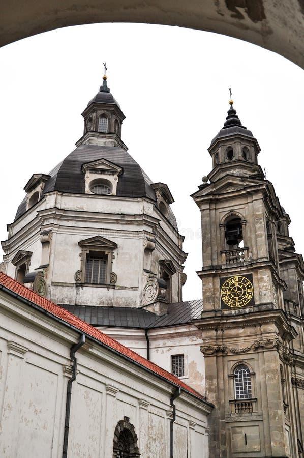 Het klooster van Pazaislis stock afbeelding