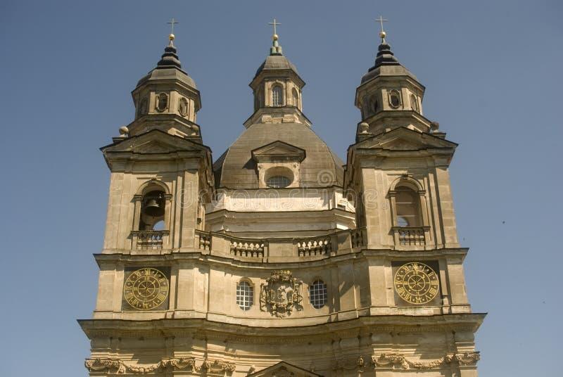 Het Klooster van Pazaislis, Kaunas, Litouwen stock foto