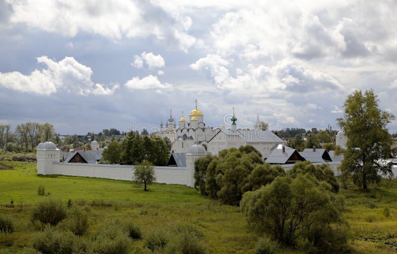 Het klooster van Pokrovsky Suzdal royalty-vrije stock foto