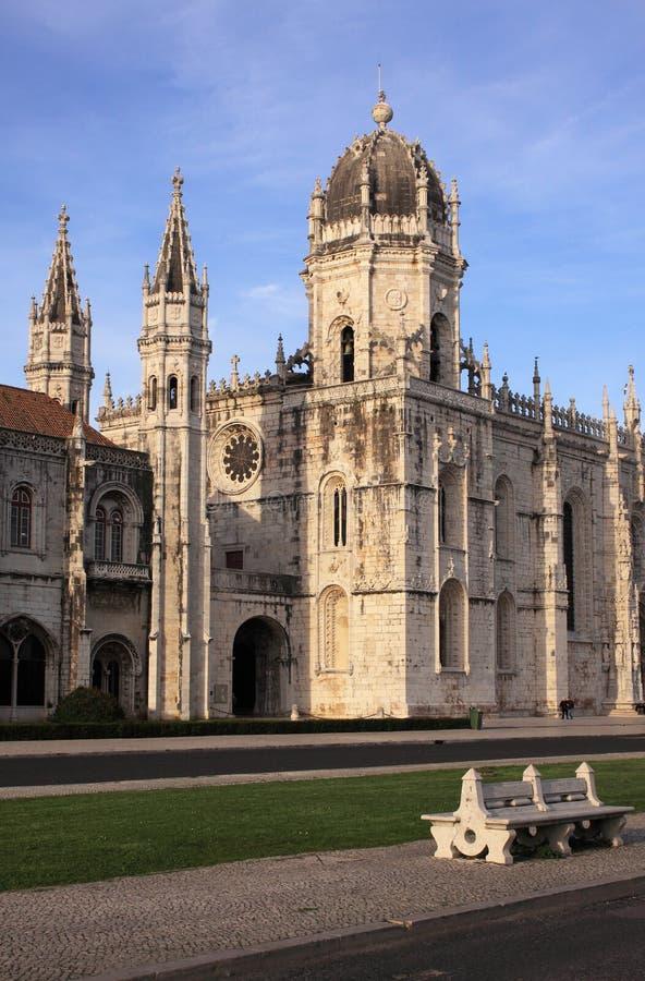 Het Klooster van Portugal Lissabon Hieronymites royalty-vrije stock afbeeldingen