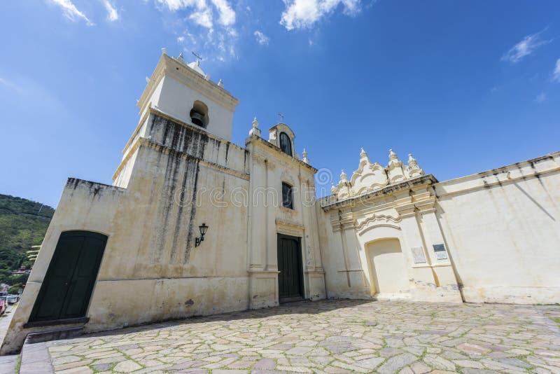 Het klooster van San Bernardo in Salta, Argentinië stock foto