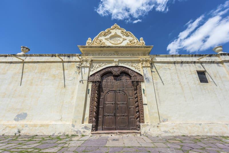 Het klooster van San Bernardo in Salta, Argentinië stock afbeeldingen
