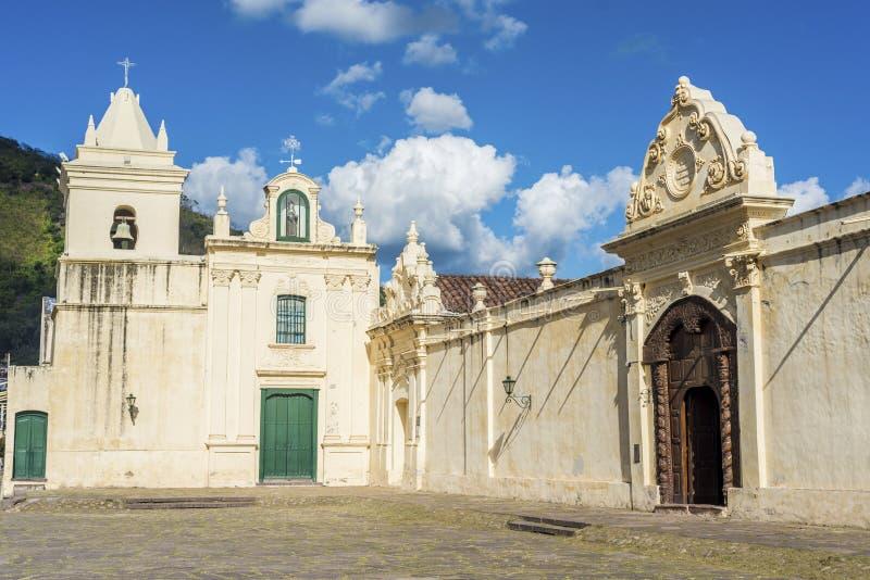 Het klooster van San Bernardo in Salta, Argentinië royalty-vrije stock fotografie