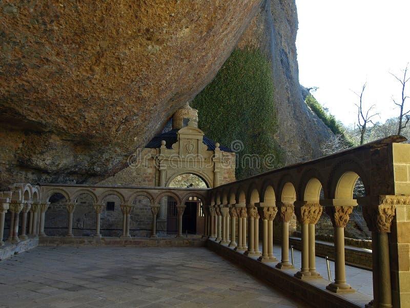 Het klooster van San juan de la peña royalty-vrije stock foto's