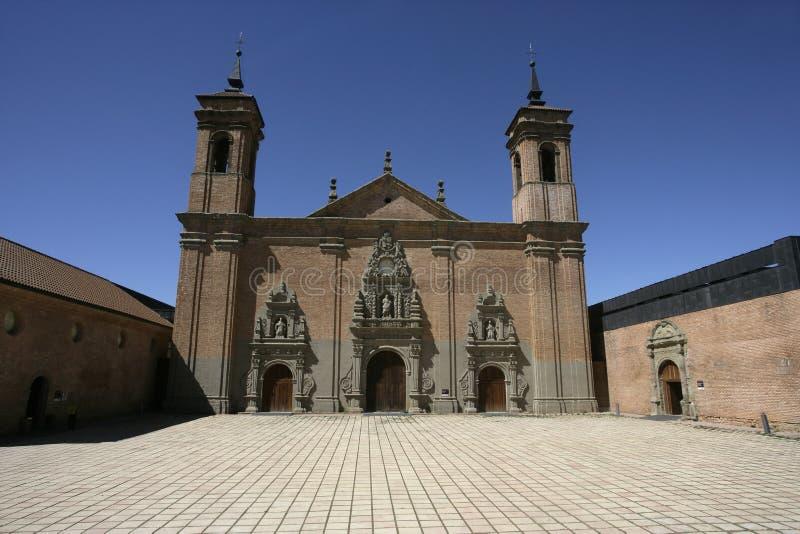 Het klooster van San Juan De La Pena stock foto