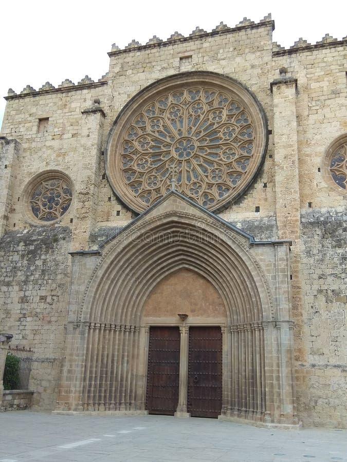 Het klooster van Santcugat stock afbeelding