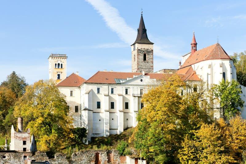 Het klooster van Sazava stock foto's