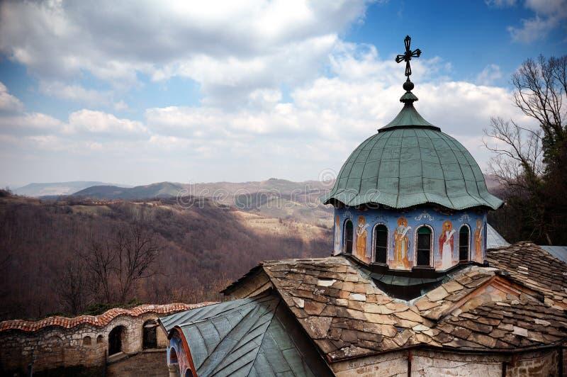Het klooster van Sokol royalty-vrije stock fotografie