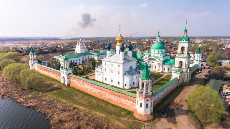 Het klooster van St Jacob Saviour is een Oostelijk Orthodox klooster royalty-vrije stock foto