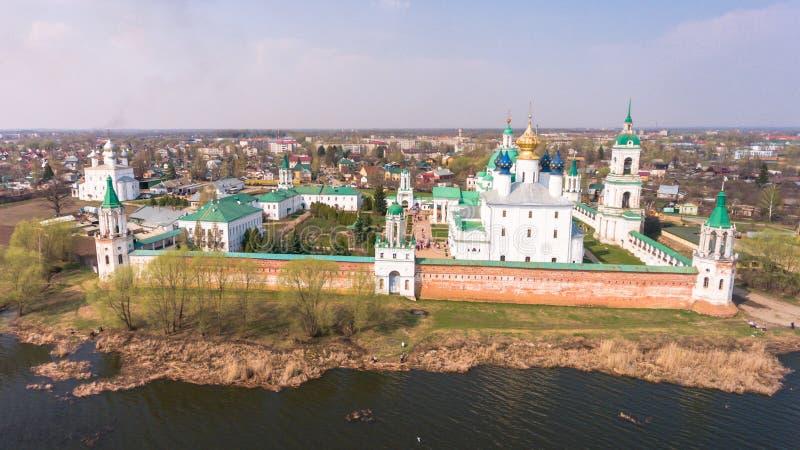 Het klooster van St Jacob Saviour is een Oostelijk Orthodox klooster stock fotografie