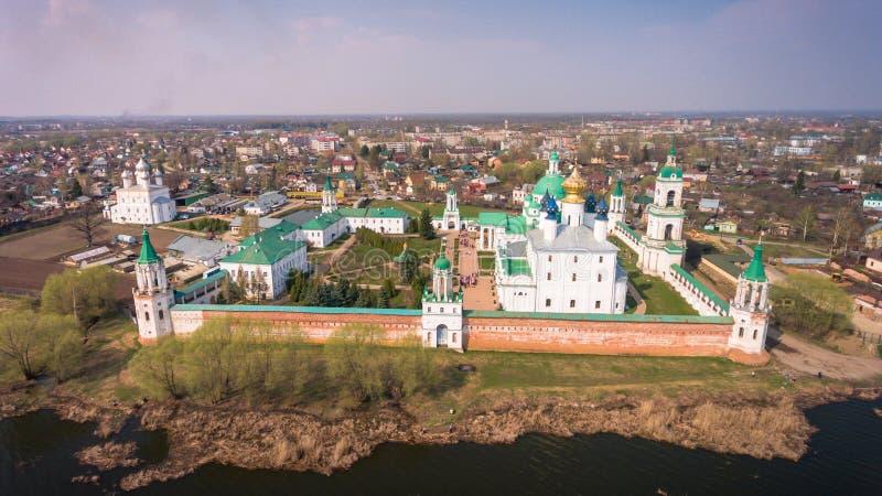 Het klooster van St Jacob Saviour is een Oostelijk Orthodox klooster stock foto's
