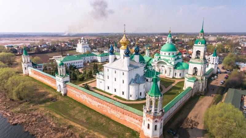 Het klooster van St Jacob Saviour is een Oostelijk Orthodox klooster stock foto