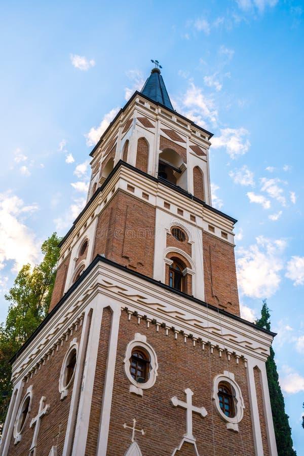 Het klooster van St Nino in Bodbe is Georgisch Orthodox kloosterc royalty-vrije stock afbeelding