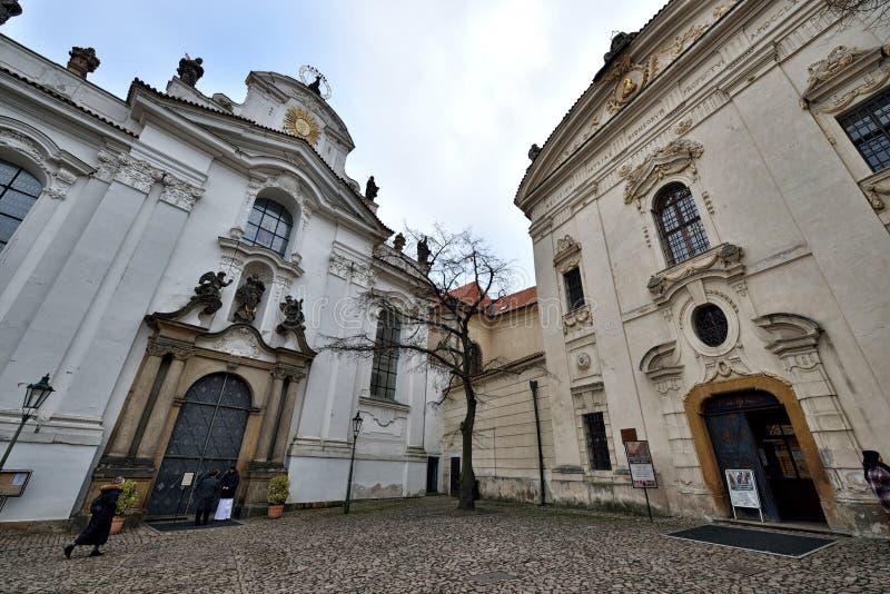 Het Klooster van Strahov stock fotografie