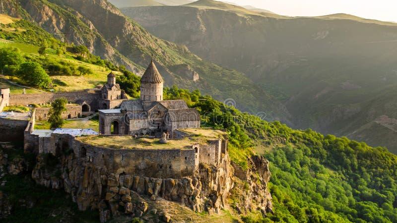 Het klooster van Tatev stock foto