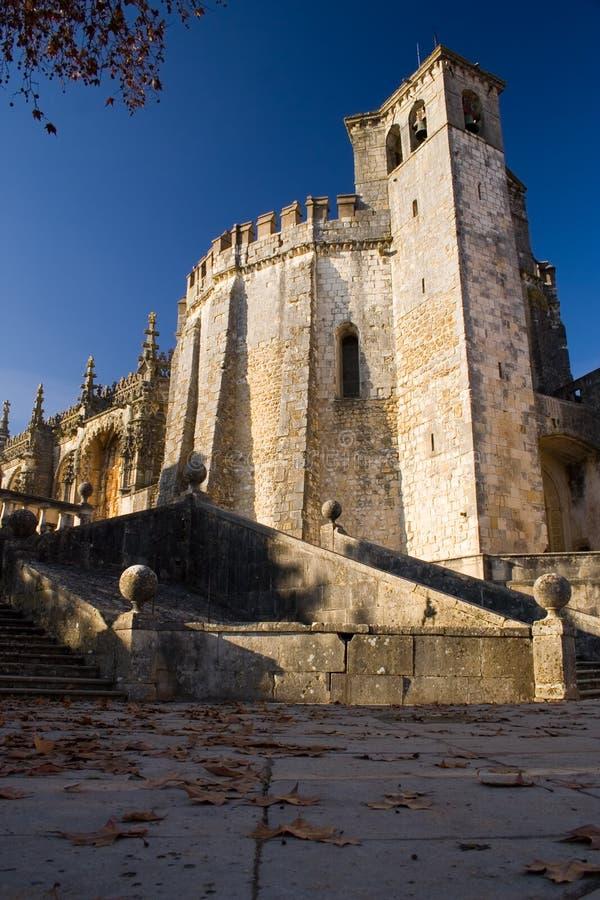 Het Klooster van Tomar stock afbeeldingen
