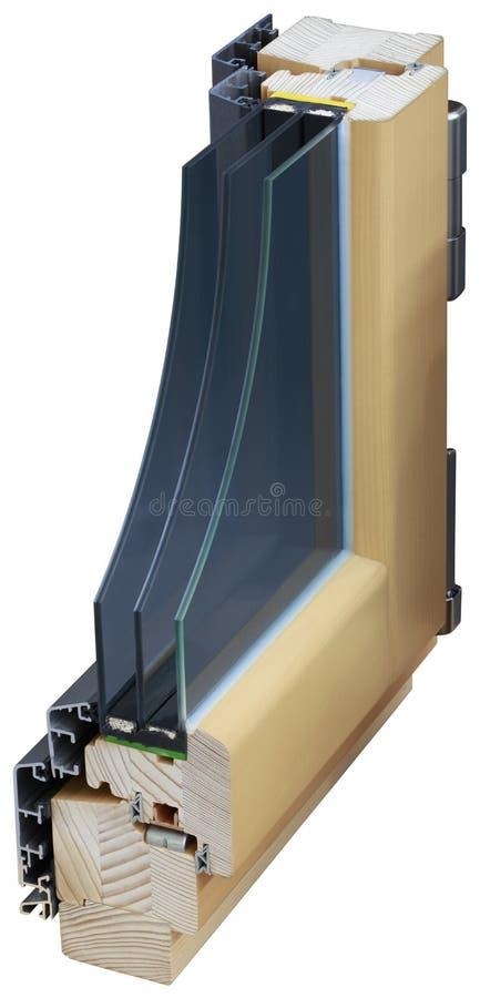 Het Knipsel van de vensterdwarsdoorsnede royalty-vrije stock fotografie