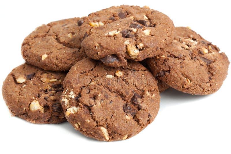 Het koekje van de chocolade royalty-vrije stock foto