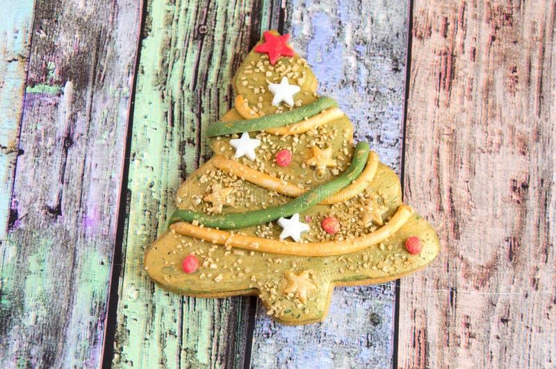 Het koekje van Kerstmis royalty-vrije stock afbeeldingen
