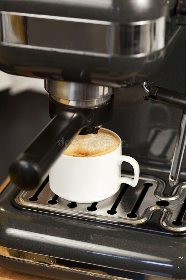 Het Koffiezetapparaat van de espresso stock afbeelding