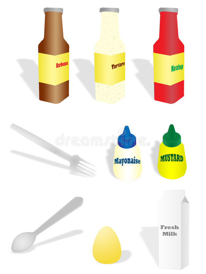 Het koken vector illustratie