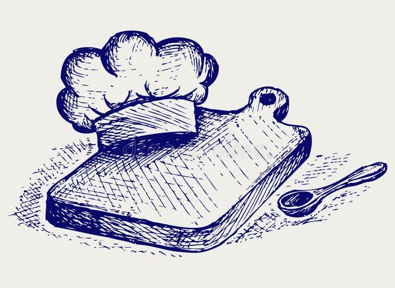 Download Het Koken. De Stijl Van De Krabbel Vector Illustratie - Illustratie bestaande uit dining, creatief: 29506531