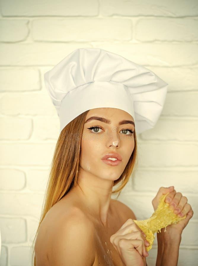 Het koken en het bakken royalty-vrije stock afbeelding