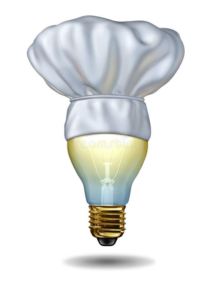 Het koken Ideeën stock illustratie
