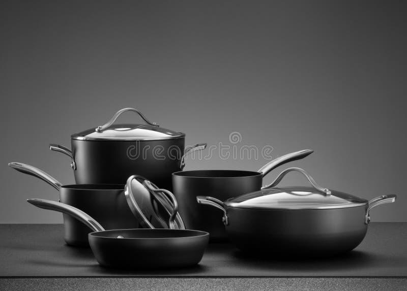 Het koken Reeks stock afbeeldingen