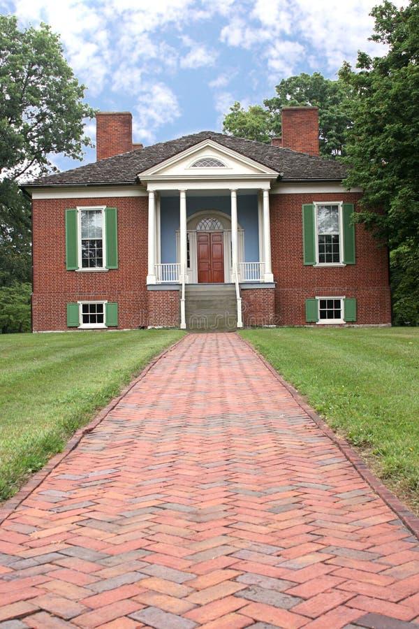 Het Koloniale Huis van Farmington stock afbeelding