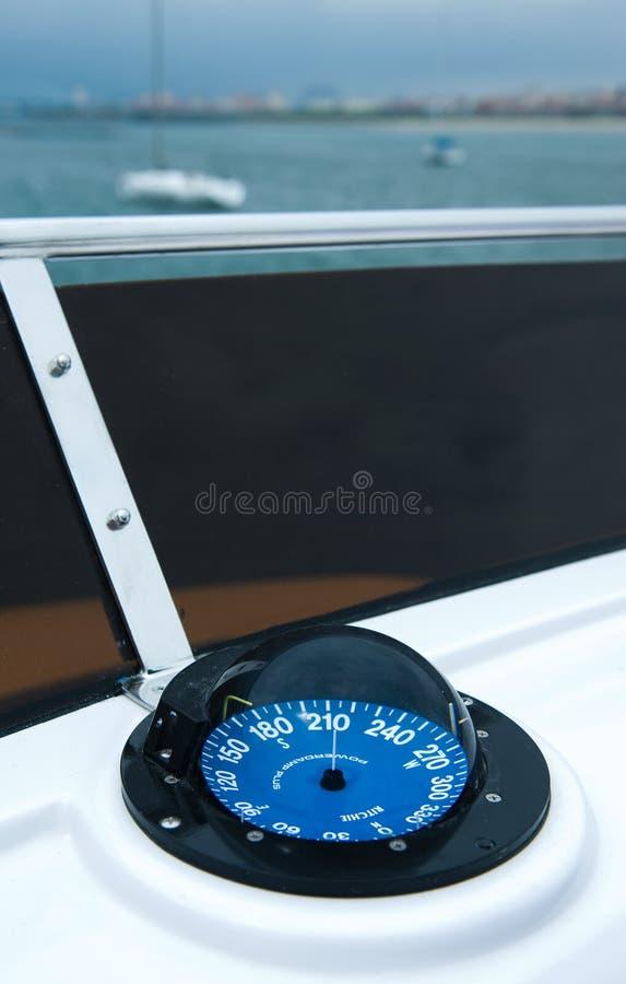 Het kompas van het jacht royalty-vrije stock afbeeldingen